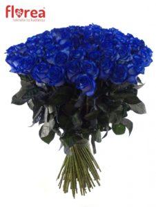 Modré růže jako dárek