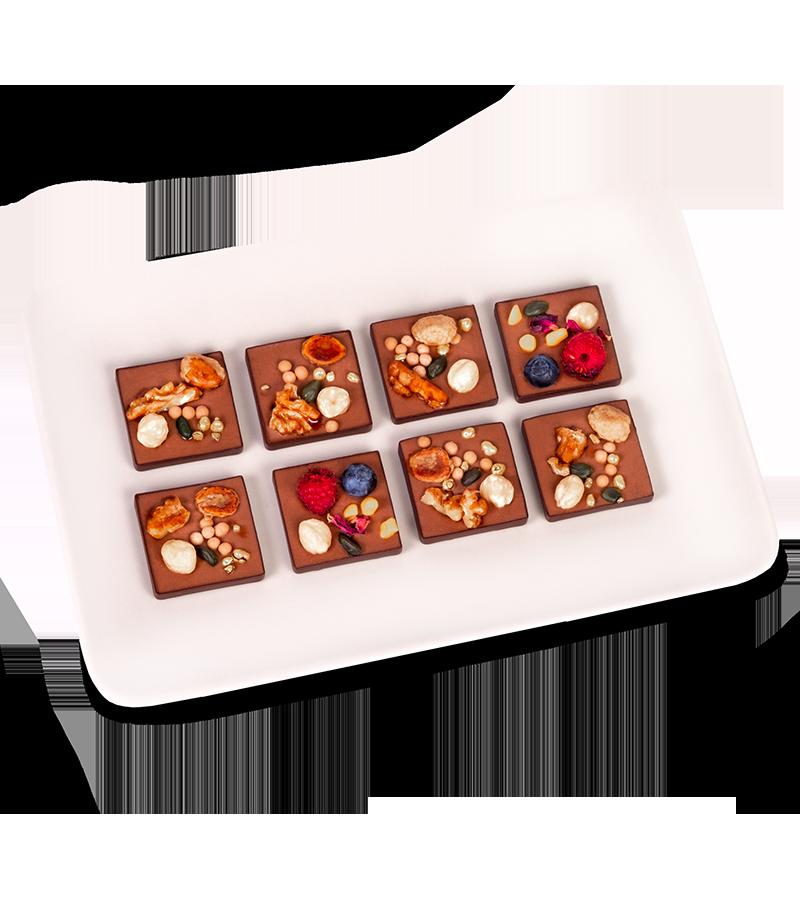 Pralinky s lesním ovocem a belgickou čokoládou - rozvoz, dárek