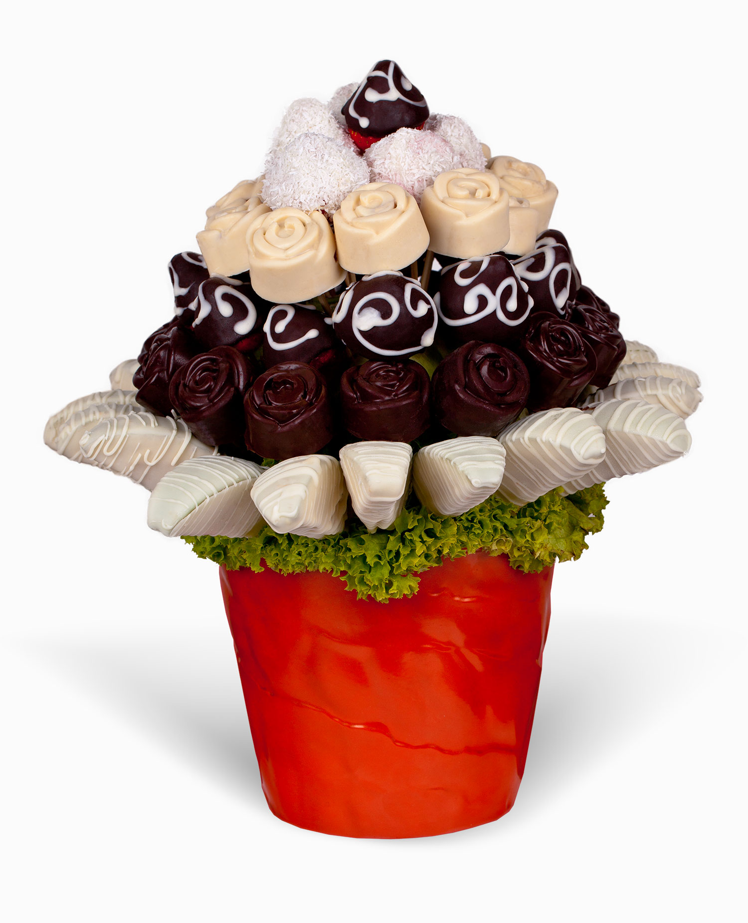 Čokoládový dezert - rozvoz, dárek