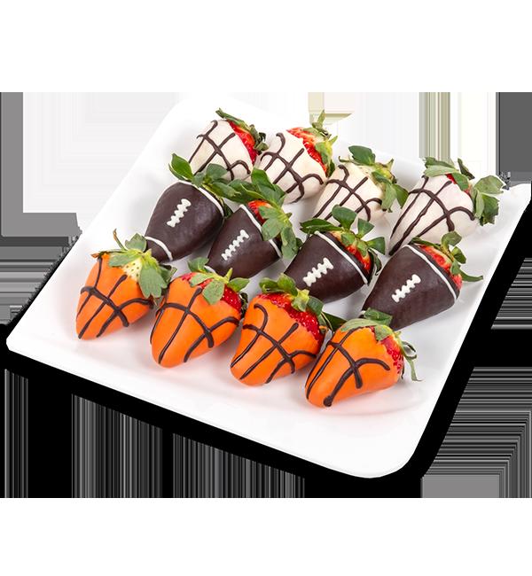 Bonboniéra Fotbalové jahody - rozvoz, dárek