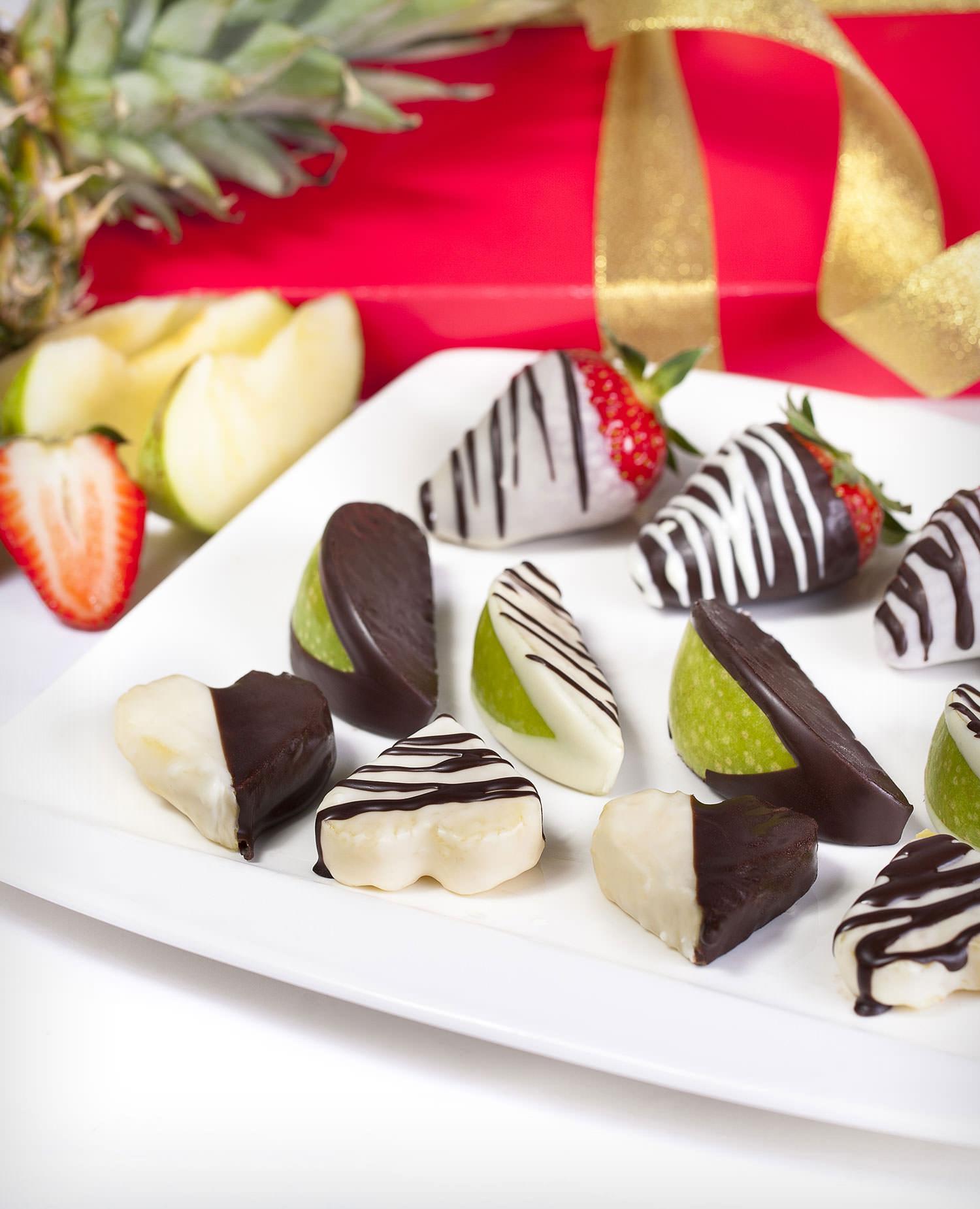 Bonboniéra Ovocné srdce - rozvoz, dárek