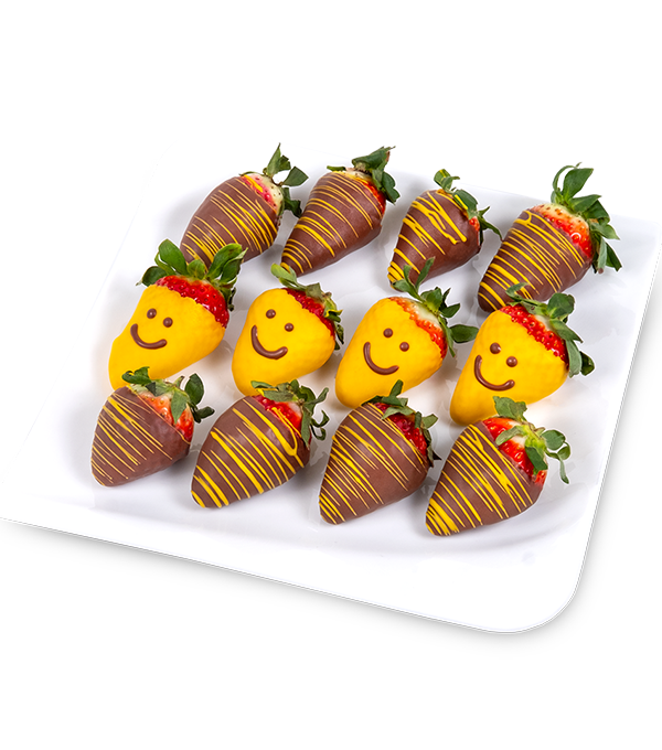 Usměvavé jahody - rozvoz, dárek