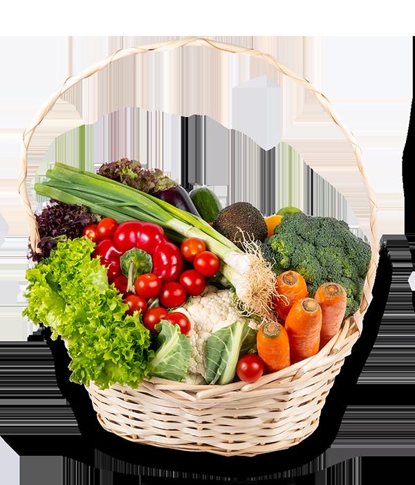 Zeleninový koš - rozvoz, dárek