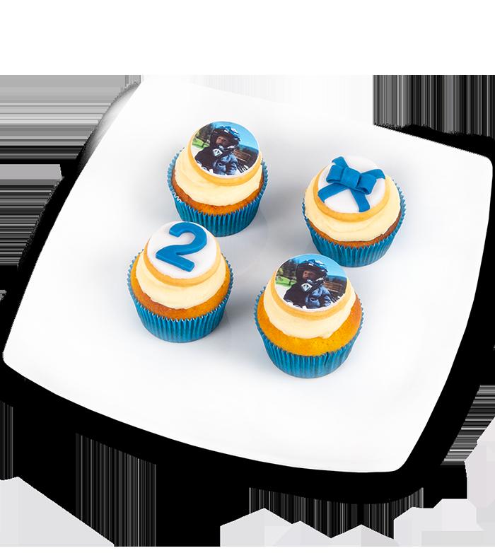 Cupcakes s fotkou - rozvoz, dárek