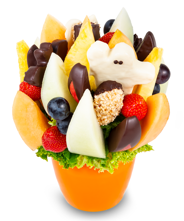 Halloween ovocná kytice - rozvoz, dárek